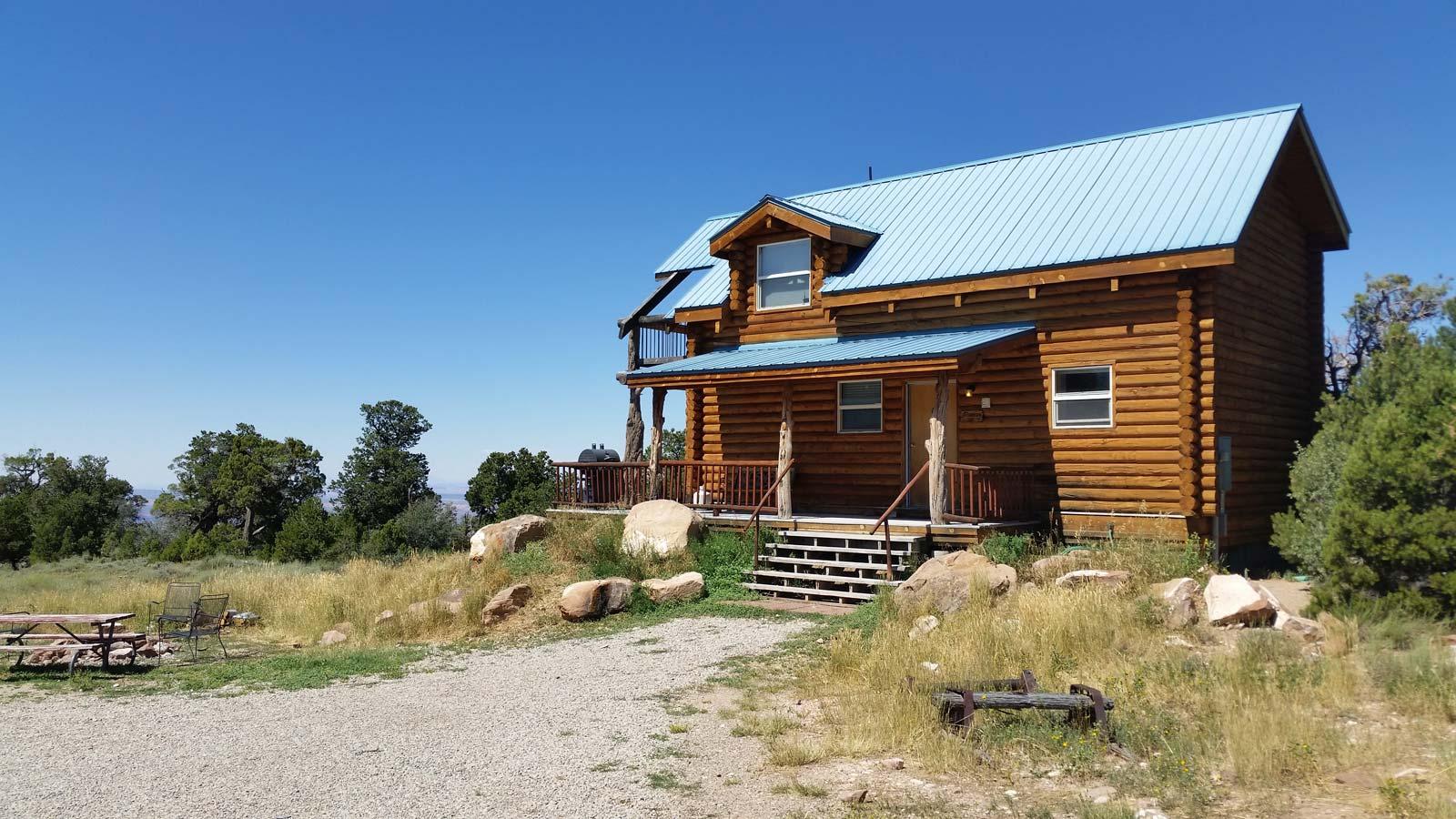 pioneer 2 cabin coyote cabin rentals